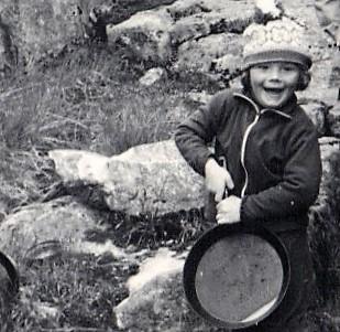 Jim Jacobsen som treåring